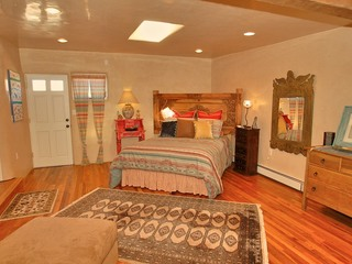 Master bedroom with separate entrance