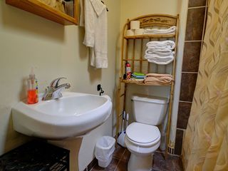Bathroom 2, shower/tub