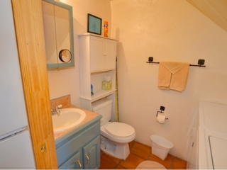 Half Bath/Washer & Dryer