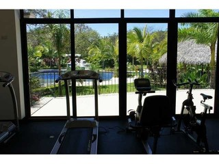 Gym at Coco Bay Estates that guests can use