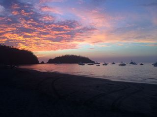 Ocotal Beach sunset