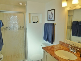 En Suite Master Bath with Walk-In Shower
