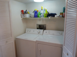 In unit Washer & Dryer closet