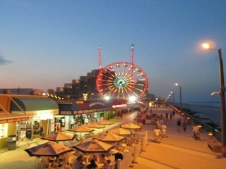 Downtown Daytona's Famous Boardwalk is just up the road!