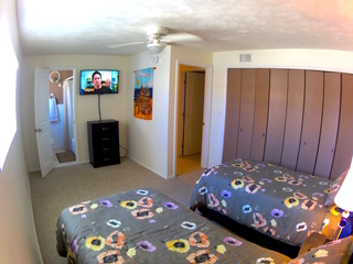 1 of 2 double twin Guest Bedrooms